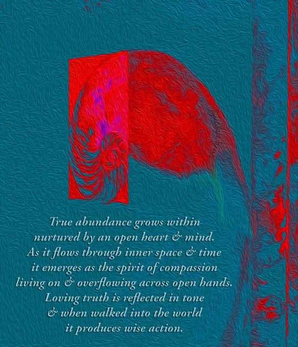 abundance and flow