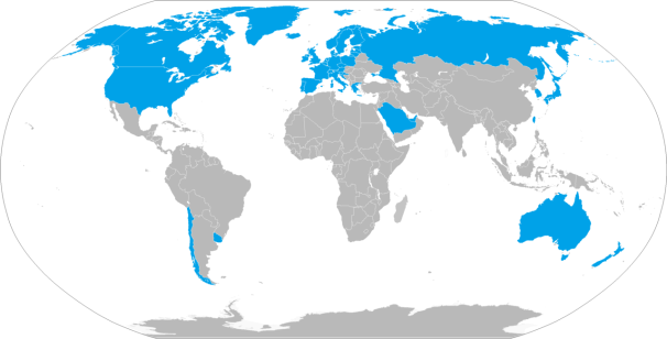 High_income_country_economies_by_world_bank