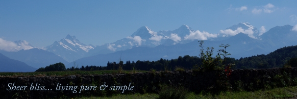 East towards Eiger, Monch and Jungfrau