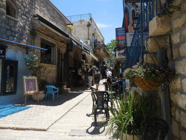 tzfat old city