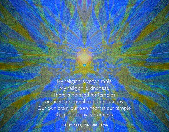 Kindness as religion web